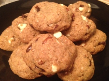 Chocolate chip flaxseed Cookies